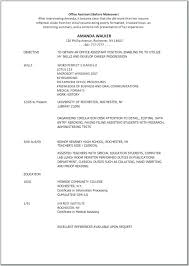 Resume Samples Sample For Administrative Assistant Office Executive ...