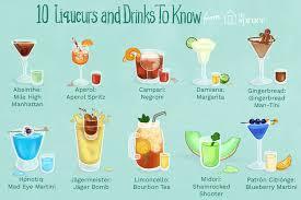por liqueurs and cordials