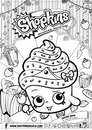 Shopkin Girl Christmas Coloring Pages Dollarbill Us Shopkins