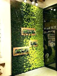 indoor wall herb garden diy ideas best living walls on gardens moss art plant indoor vertical wall garden