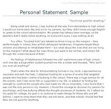 College Personal Statement Examples College Personal Statement Template Castbuddy Me