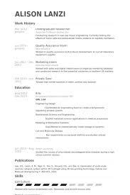 Undergraduate Resume Template Simple Resume Template
