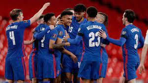 ตัดเกรดแข้ง ทีมชาติอังกฤษ เกมไล่ยำ ซาน มาริโน ประเดิมคัดบอลโลก 2022