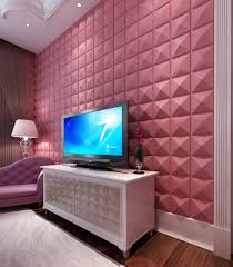 Pyramid design wall decoration 3D effect light weight wall panel