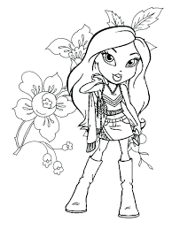 Doll Coloring Pages Dolls Coloring Pages Lol Doll Coloring Pages