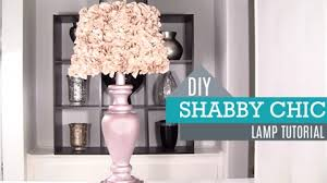 shabby chic lighting ideas. diy shabby chic decor u2013 lamp and shade joy projects crafts ideas lighting s