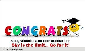 Congratulations On Your Graduation Free Graduation Party Ecards