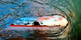 beautiful ocean waves from incredible