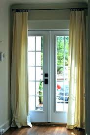 window treatment ideas for french doors french door curtains french door curtain ideas metal door curtain