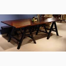 a frame saw bench trestle table