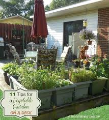 Small Picture Deck Gardening Containers Gardening Ideas
