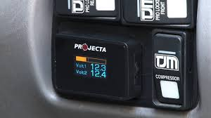 projecta dual battery volt meter youtube projecta dual battery monitor wiring diagram at Projecta Dual Battery Wiring Diagram