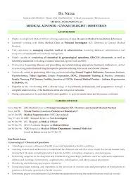 Doctor Resume Format For Doctors In Cv India Debatr