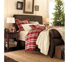 red plaid duvet cover king sweetgalas