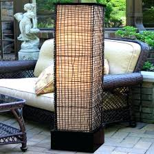 modern outdoor floor lamp for zen styled backyard with paved patio dimension outdoor floor lamps contemporary