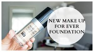 new make up forever ultra hd foundation