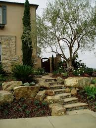 outdoor living company. modern tuscan dramatic pool, outdoor living room, - mediterranean landscape san diego company