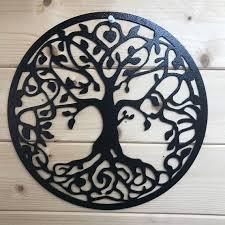 tree of life metal wall art large