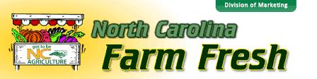 Nc Seasonal Produce Chart Nc Farm Fresh Availability