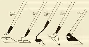 13 garden tools equipment types of hoes