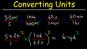 Create A Conversion Chart For Length And Distance Converting Units With Conversion Factors