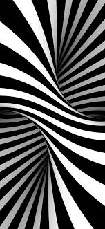 white, stripes, optical illusion, art ...