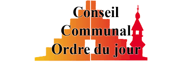 Ordres Du Jour Conseil Communal Du 24 Mai Ordre Du Jour Lessines