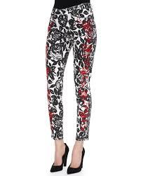 Cj Cookie Johnson Jeans Size Chart Wisdom Skinny Ankle Jeans Black Red