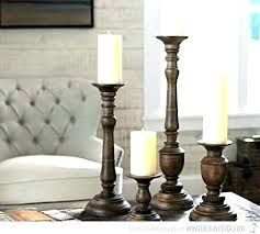 amusing tall floor candle holders wood s unfinished branch rustic wooden