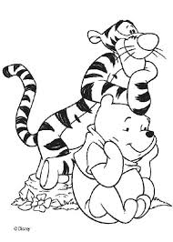 Small Picture Winnie and his friend tigger coloring pages Hellokidscom
