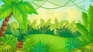 jungle background. Perfect Jungle Vector Cartoon Game Background Of Green Jungle Landscape  Stock  Colourbox Throughout Jungle Background