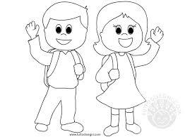 Bello Bambina In Ginocchio Disegnata Da Colorare Migliori Pagine