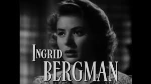 Image result for  Humphrey Bogart and Ingrid Bergman,