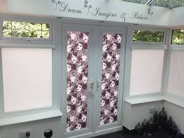 what blinds are best for french doors