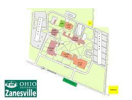 visiting ohio university zanesville campus Ohio Colleges Map ohio university zanesville campus map ohio college map