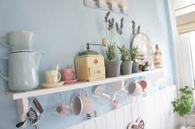 Shabby Chic Colors For Kitchen : Cheap vintage shabby chic style kitchen design and decorating