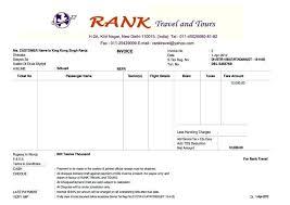 Travel Agency Bill Format Lta Bill Format 12 Photos Henfa Templates