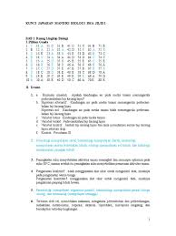 Bab 2 struktur dan fungsi jaringan tumbuhan i. Kunci Jawaban Biologi Kelas 10 Kurikulum 2013