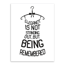 Quotes Letter Black White Quotes Letter Creative Dress Unframed Picture Wall Art