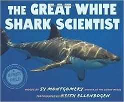 best shark project images sharks shark week and  the great white shark scientist by sy montgomery follow dr greg skomal biologist