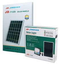 ĐÈN LED NĂNG LƯỢNG MẶT TRỜI, JINDIAN JD7120 (120w), Chính hãng mới 100%,  Bảo hành 2 năm
