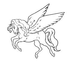 Dessin De Poney Pour Imprimer Et Colorier Coloriage Licorne