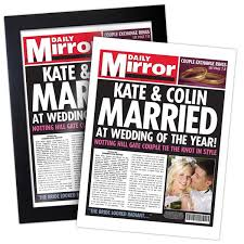 Spoof Newspaper Template Free Spoof Personalised Newspapers I Just Love It