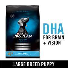 Purina Pro Plan Large Breed Dry Puppy Food Focus Chicken Rice Formula 18 Lb Bag Walmart Com