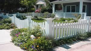 white fence ideas. Interesting Front Yard Fences Best House Design Ideas Gates White Fence