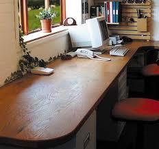 wide angle view busy design office. Modren Design Angle View Busy Design Office Creating A Home Wooden Desk  Worktops Flexible Intended Wide N