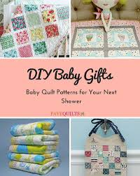 DIY Baby Gifts: 15 Baby Quilt Patterns for Your Next Shower ... & DIY Baby Gifts 15 Baby Quilt Patterns for Your Next Shower Adamdwight.com