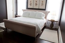 black upholstered sleigh bed. Upholstered Sleigh Bed Headboard Pertaining To Who Made This Lovely Remodel 2 Black