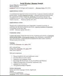 Luxury Social Work Resume Examples Social Work Resume Samples