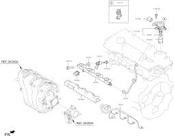 2012 kia soul throttle body injector thumbnail 1